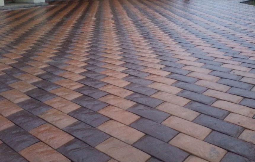 Английский булыжник - вибролитая тротуарная плитка