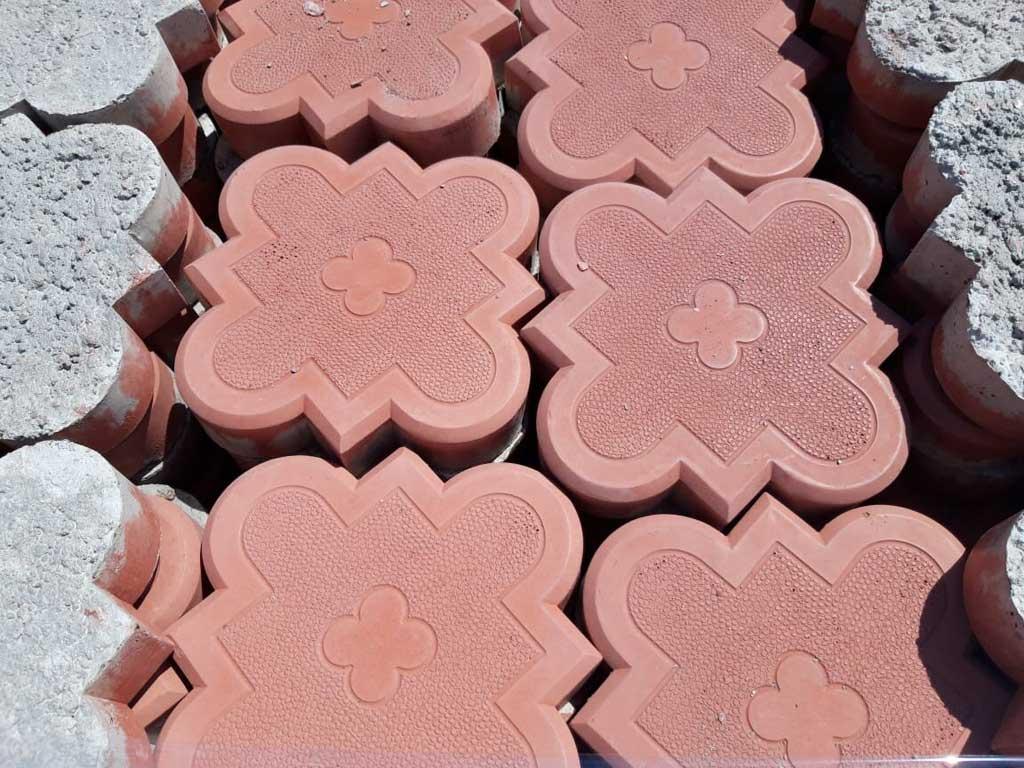 Гжелка малая - вибролитая тротуарная плитка