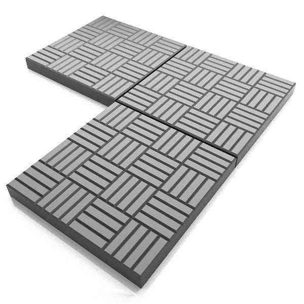 Паркет - вибролитая тротуарная плитка