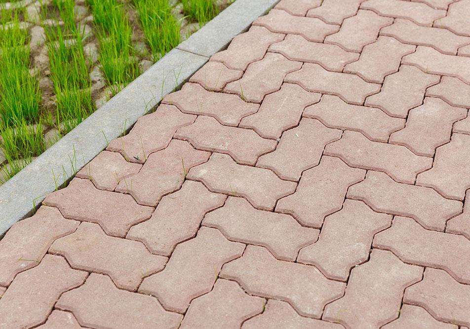 Волна - вибролитая тротуарная плитка