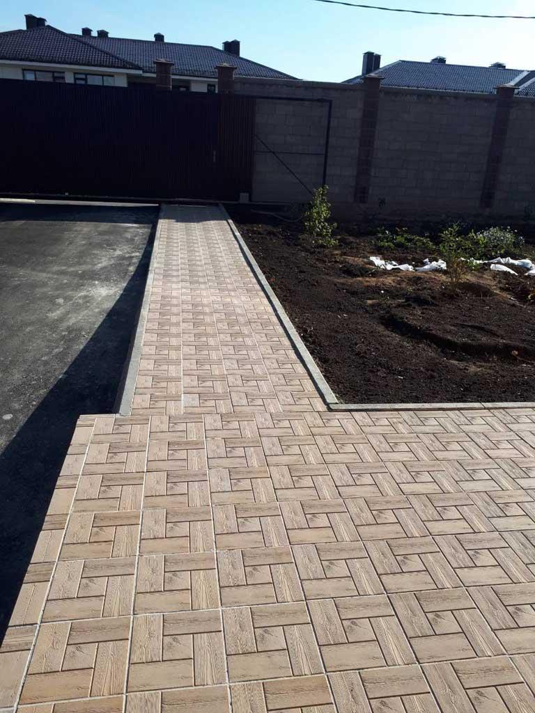 Калифорния доска - вибролитая тротуарная плитка