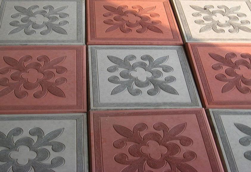Клевер Краковский квадрат - вибролитая тротуарная плитка