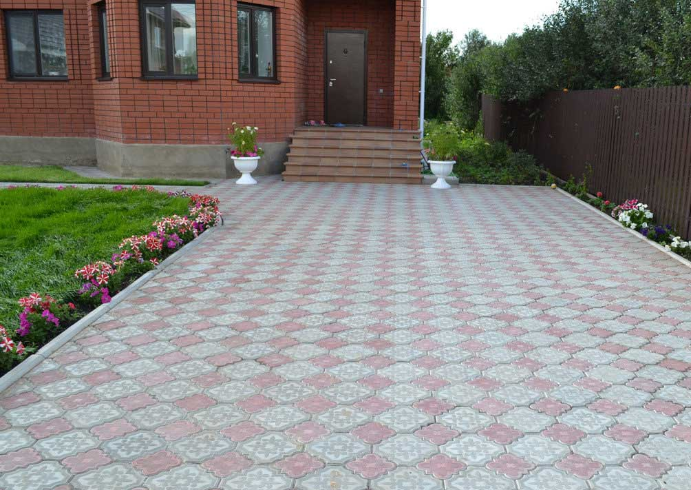 Тротуарная плитка вибролитая
