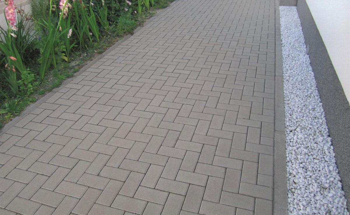 Брусчатка 6 - вибропрессованная тротуарная плитка