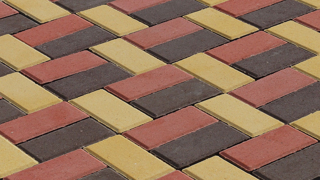 Брусчатка 8 - вибропрессованная тротуарная плитка