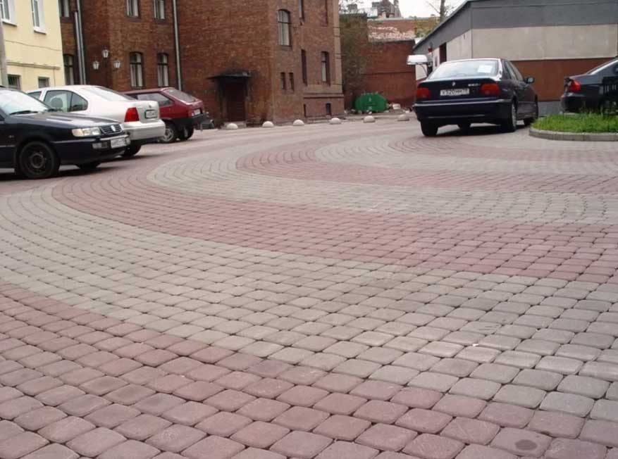 Классика 8 - вибропрессованная тротуарная плитка