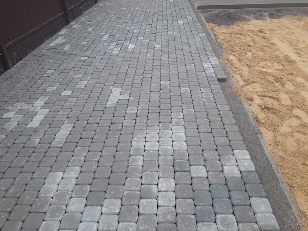 Классика 6 - вибропрессованная тротуарная плитка