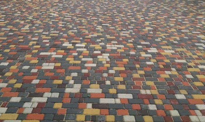 Старый город - вибропрессованная тротуарная плитка