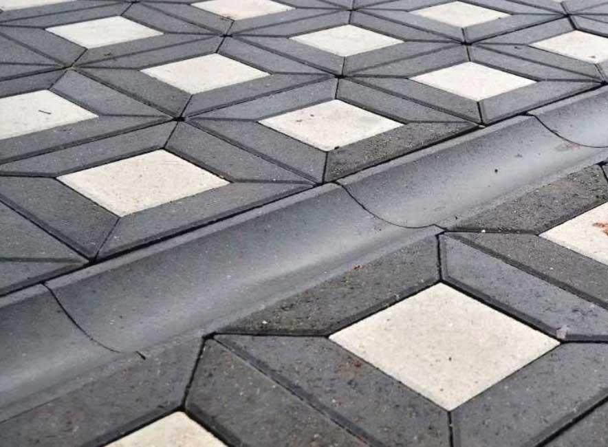 Водосток бетонный тротуарный