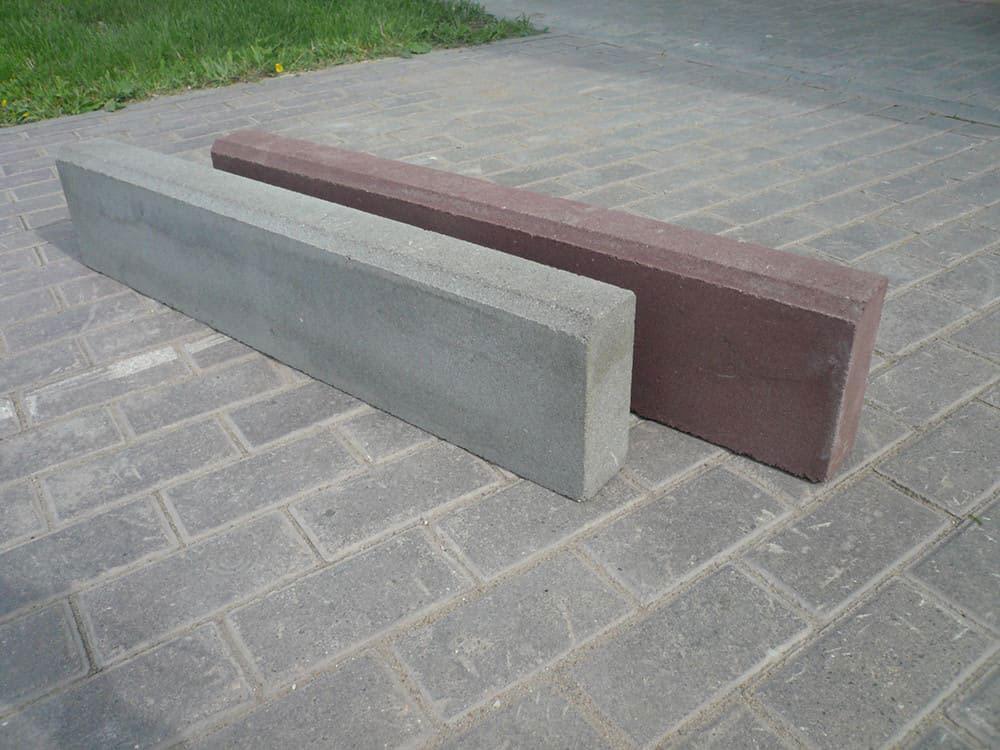 БР-08 - бордюрный камень