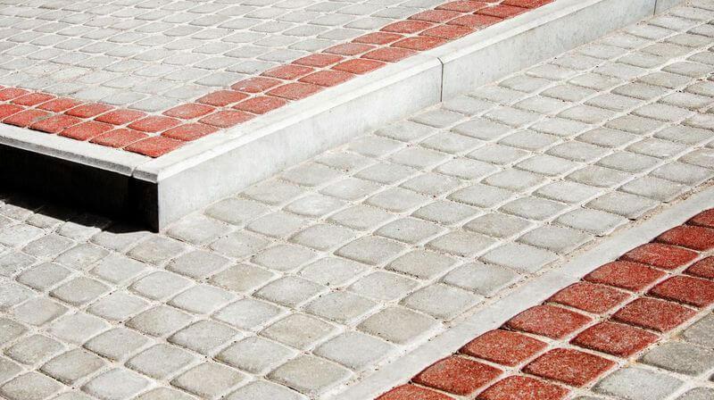 Бордюр садовый 'БР 40' - бордюрный камень
